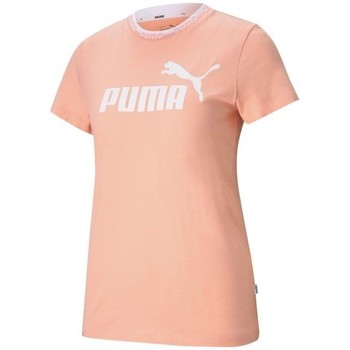 Clothing Women Short-sleeved t-shirts Puma Amplified Graphic Tee Pink