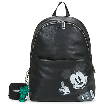 Bags Women Rucksacks Desigual MICKEY MOMBASA 2ZIPPERS Black