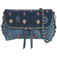 Bags Women Shoulder bags Desigual JULY TRIBU VENECIA MINI Blue