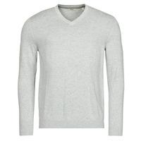Clothing Men Jumpers Esprit F PIMA V-NK Grey