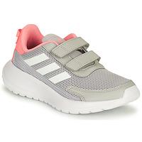 Shoes Girl Running shoes adidas Performance TENSAUR RUN C Grey / Pink
