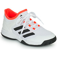 Shoes Children Tennis shoes adidas Performance Ubersonic 4 k White / Red