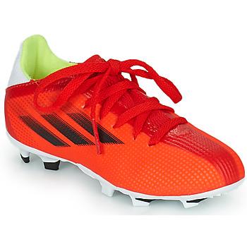 Shoes Children Football shoes adidas Performance X SPEEDFLOW.3 FG J Red