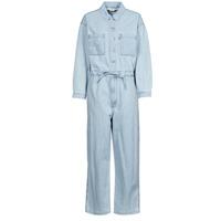 Clothing Women Jumpsuits / Dungarees Levi's ROOMY JUMPSUIT Blue