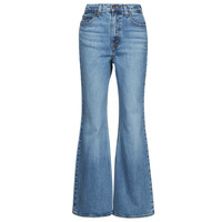 Clothing Women Bootcut jeans Levi's 70S HIGH FLARE Blue