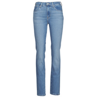 Clothing Women Straight jeans Levi's 724 HIGH RISE STRAIGHT Blue