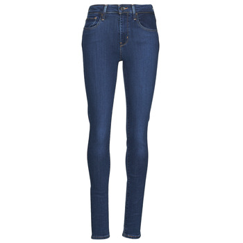 Clothing Women Skinny jeans Levi's 721 HIGH RISE SKINNY Blue