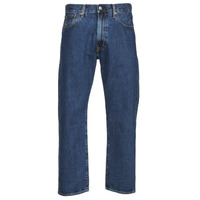 Clothing Men Straight jeans Levi's 551Z STRAIGHT CROP Blue