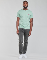 Clothing Men Straight jeans Levi's 502 TAPER Grey