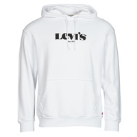 Clothing Men Sweaters Levi's T2 RELAXED GRAPHIC PO White