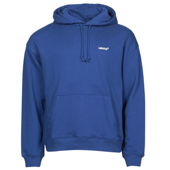 Clothing Men Sweaters Levi's RED TAB SWEATS HOODIE Blue
