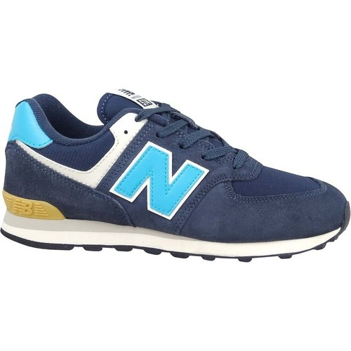 Shoes Children Low top trainers New Balance 574 Navy blue