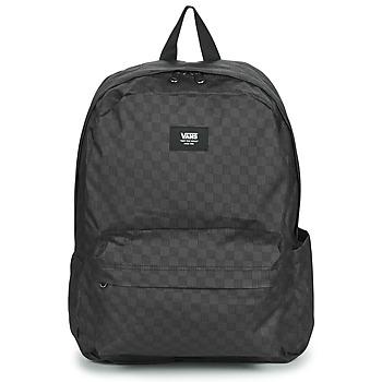 Bags Rucksacks Vans OLD SKOOL CHECK BACKPACK Black