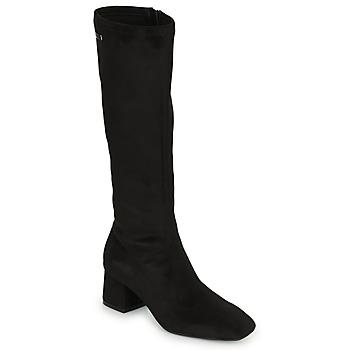 Shoes Women Thigh boots Les Tropéziennes par M Belarbi DOTY Black
