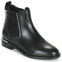 Shoes Women Mid boots Les Tropéziennes par M Belarbi MYLA Black / Silver