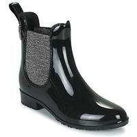 Shoes Women Wellington boots Les Tropéziennes par M Belarbi RAINBOO Black / Silver