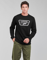 Clothing Men Sweaters Vans FULL PATCH CREW II Black