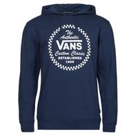 Clothing Men Sweaters Vans ATHLETIC PO Blue