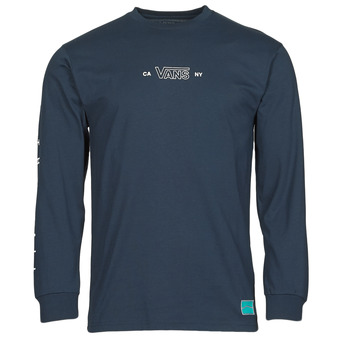 Clothing Men Long sleeved tee-shirts Vans SEQUENCE LS Blue