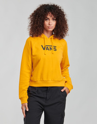 Clothing Women Sweaters Vans FLYING V FT BOXY HOODIE Yellow