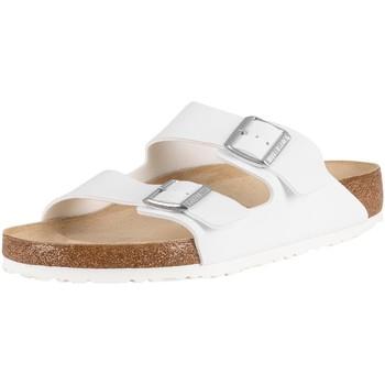 Shoes Men Mules Birkenstock Arizona BS Sandals white
