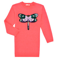 Clothing Girl Short Dresses Billieblush SOLIDA Pink