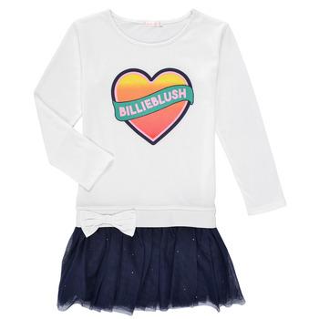 Clothing Girl Short Dresses Billieblush FRENIA White