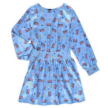 Clothing Girl Short Dresses Billieblush STIKA Blue