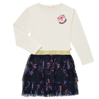 Clothing Girl Short Dresses Billieblush POLINA White