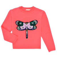 Clothing Girl Jumpers Billieblush VIANNE Pink
