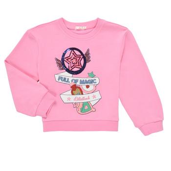 Clothing Girl Sweaters Billieblush LOUNNA Pink