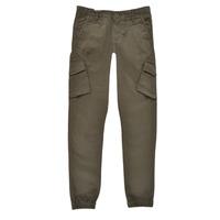 Clothing Boy Cargo trousers Teddy Smith BATTLE Kaki