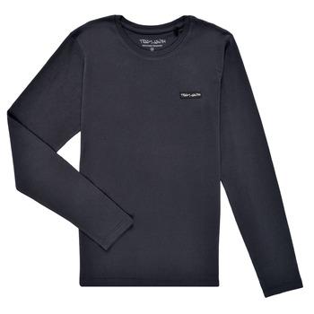 Clothing Boy Long sleeved tee-shirts Teddy Smith T-NARK ML Marine