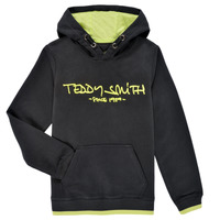 Clothing Boy Sweaters Teddy Smith SICLASS HOODY Black