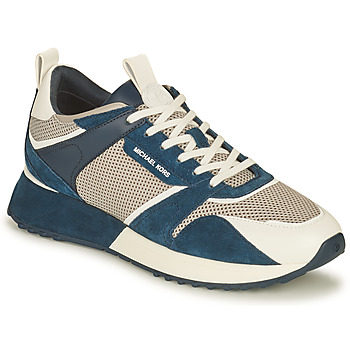 Shoes Men Low top trainers MICHAEL Michael Kors THEO Marine / White