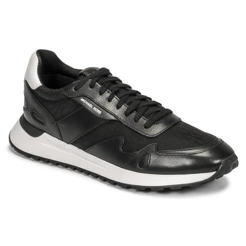 Shoes Men Low top trainers MICHAEL Michael Kors MILES Black