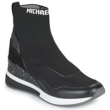 Shoes Women Hi top trainers MICHAEL Michael Kors SWIFT Black