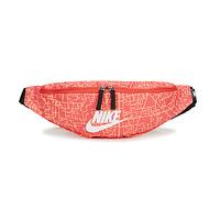 Bags Women Bumbags Nike NK HERITAGE WSTPCK FA21 AOP2 Pink / Black / White
