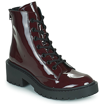 Shoes Women Ankle boots Kenzo PIKE LACE-UP BOOT Bordeaux