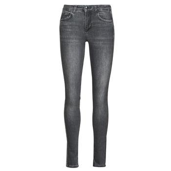 Clothing Women Slim jeans Liu Jo DIVINE Grey