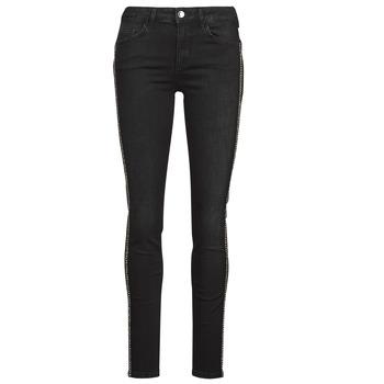 Clothing Women Slim jeans Liu Jo DIVINE Black