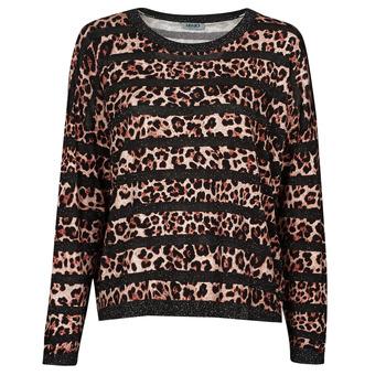 Clothing Women Jumpers Liu Jo WF1538 Leopard