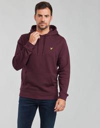 Clothing Men Sweaters Lyle & Scott KOLAVE Bordeaux