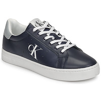 Shoes Men Low top trainers Calvin Klein Jeans CUPSOLE LACEUP SNEAKER Marine