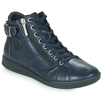 Shoes Women Hi top trainers Pataugas PALME Marine