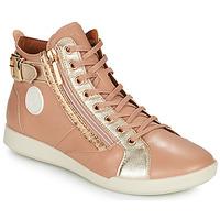Shoes Women Hi top trainers Pataugas PALME Beige / Leo