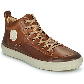 Shoes Men Hi top trainers Pataugas CARLO Chestnut