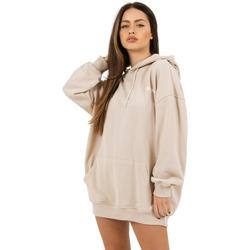 Clothing Women Sweaters Sixth June Robe sweat Femme beige