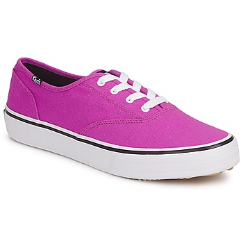 Shoes Women Low top trainers Keds DOUBLE DUTCH SEASONAL SOLIDS PURPLE