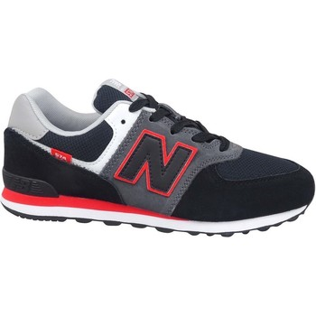 Shoes Children Low top trainers New Balance 574 Black, Grey